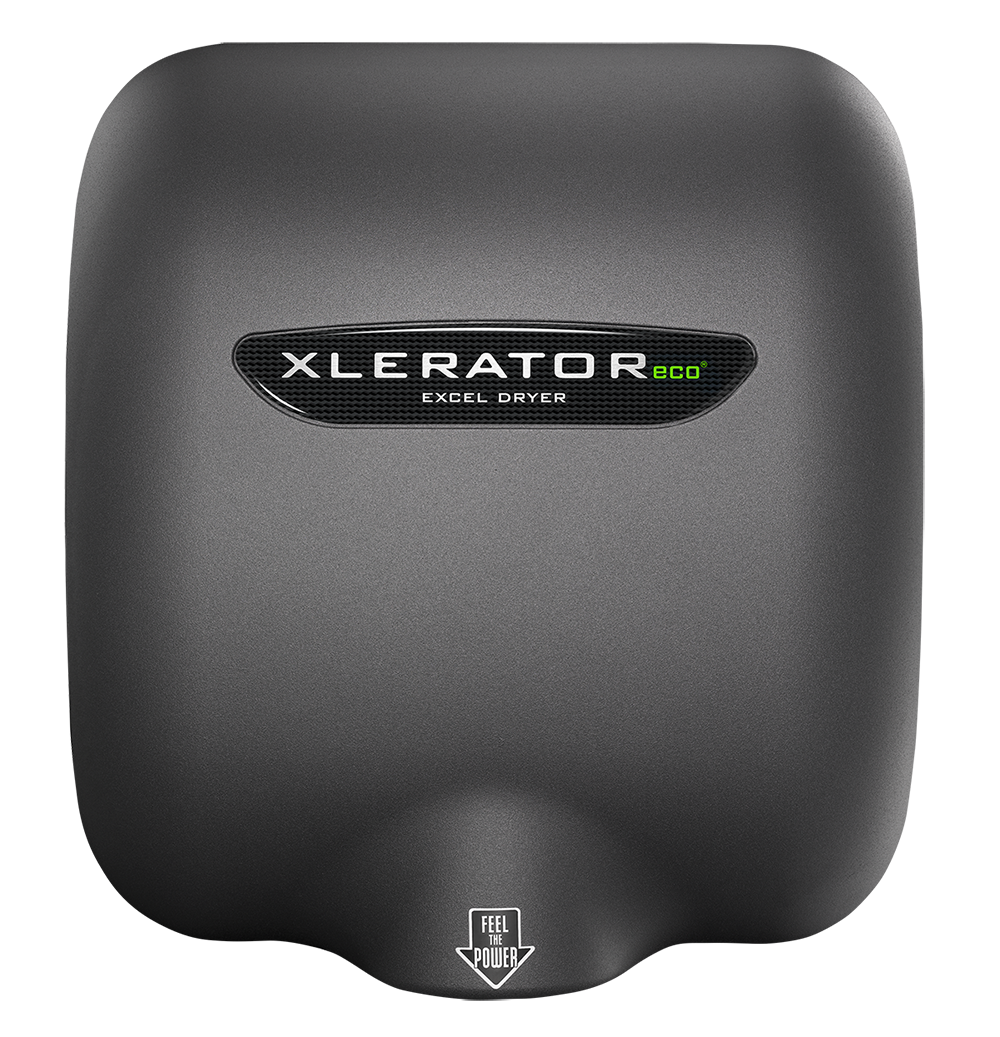 XLERATOReco XL-GR-ECO Hand Dryer Graphite Textured Painted Cover