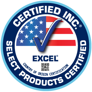 XLERATOR hand dryers are Made in USA Certified