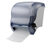 Lever pull paper towel dispensers