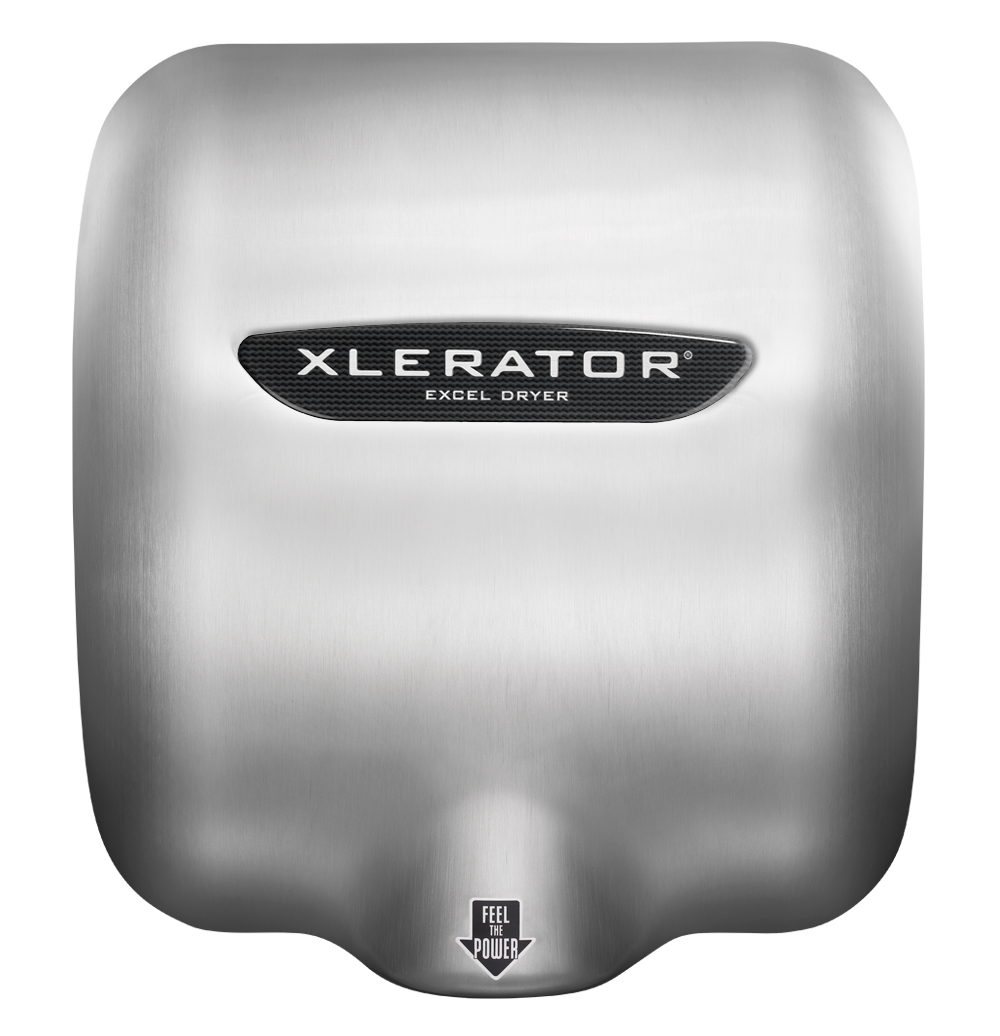 XLERATOR XL-SB Brushed Stainless Steel Hand Dryer Cover